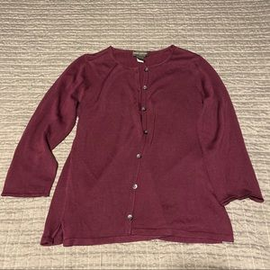 Banana Republic Silk Cardigan